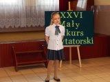 Eliminacje gminne XXXVI Małego Konkursu Recytatorskiego już za nami!
